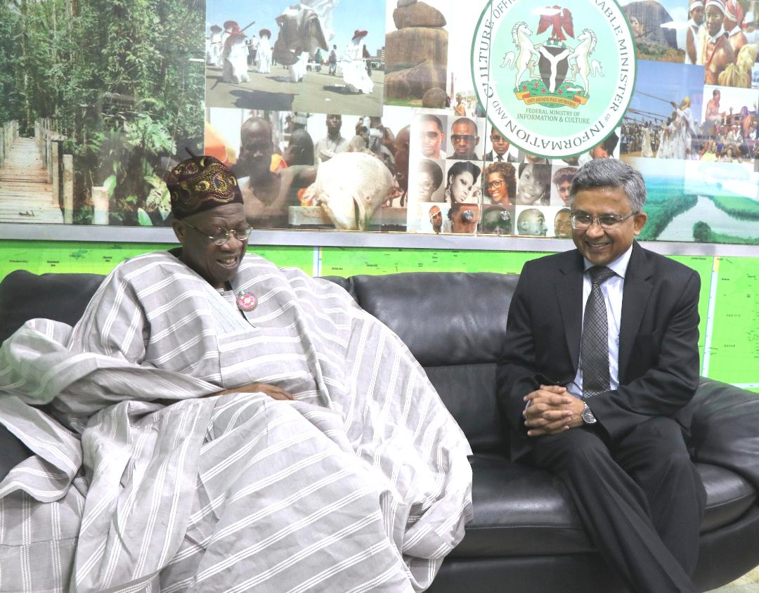 FG seeks India's support for Nigerian film industry