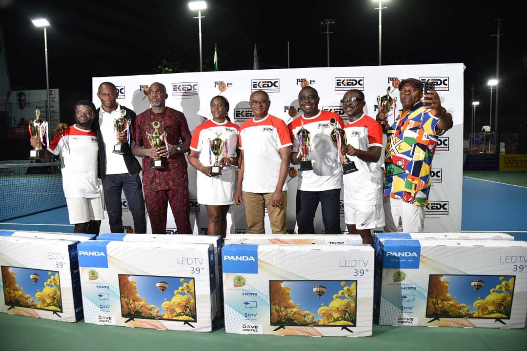 Lekki Feeder emerges victorious at Eko Disco tennis championship