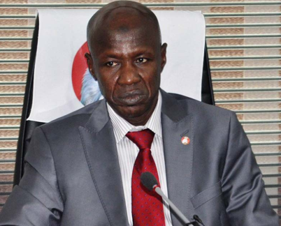 •Acting EFCC Chairman Magu