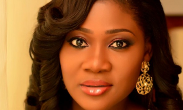 •Nollywood diva Mercy Johnson.