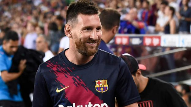 Champions League: Messi to make Barca return today at Dortmund