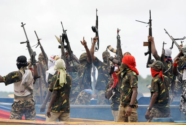 Niger Delta militants declare war •Their condition for peace