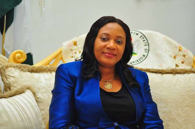 •Wife of Akwa Ibom State governor, Mrs Martha Udom Emmanuel