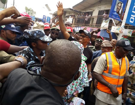 2019: Peter Obi storms Lagos; markets shut as crowds receive him
