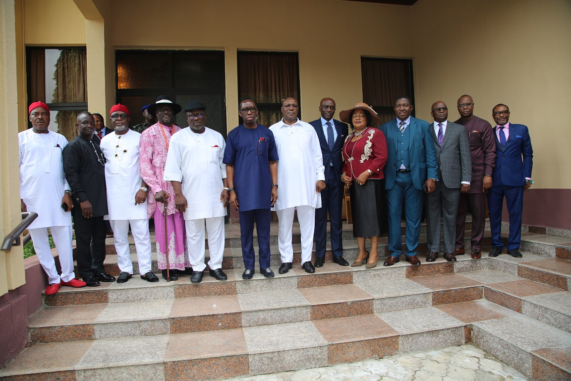 Why we are giving appointments in batches — Okowa •Swears-in 8 Special Advisers