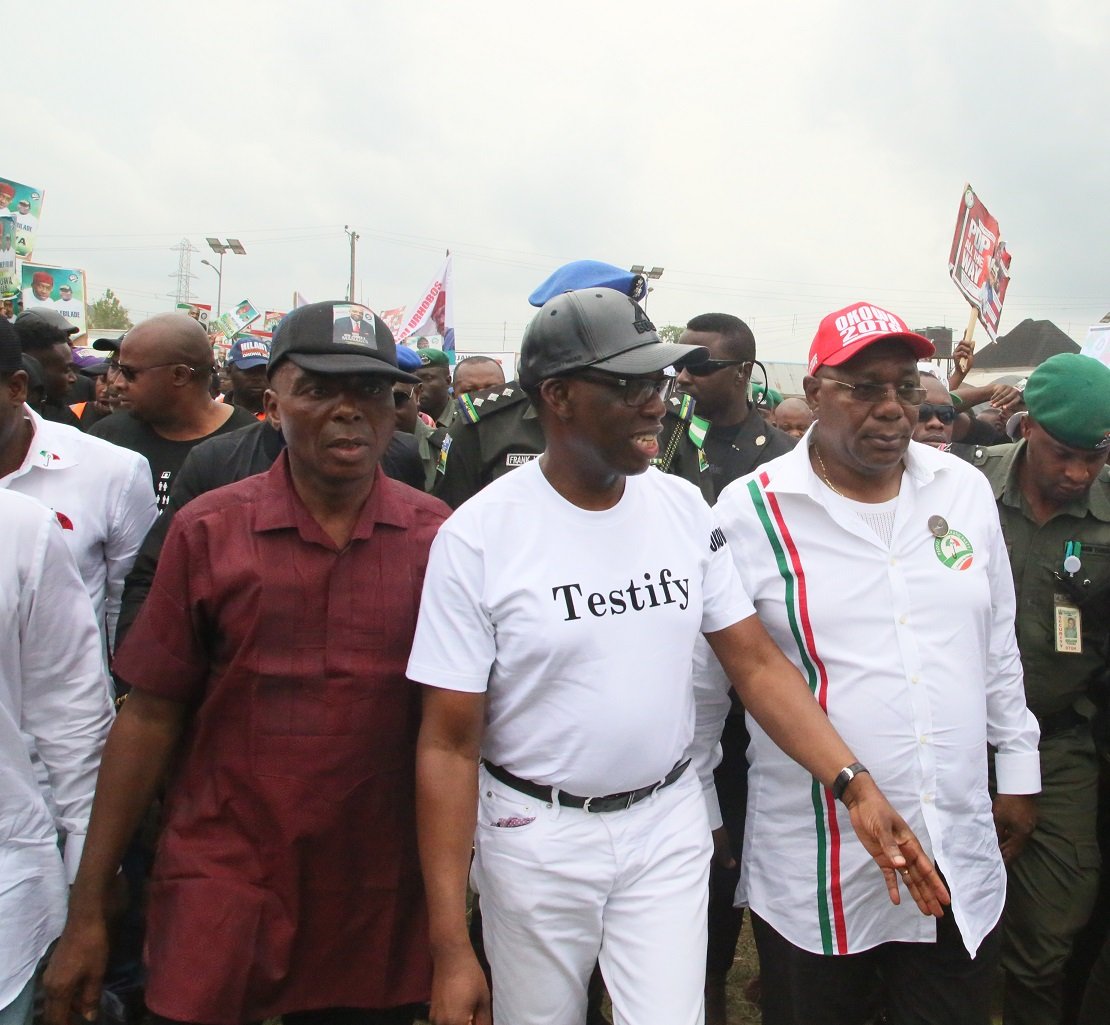 2019: Vote for only PDP candidates, Okowa urges Nigerians