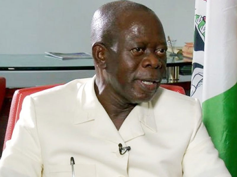•APC National Chairman Oshiomhole