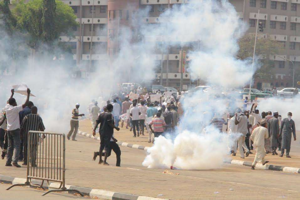 •Shiites in violent clash with Police in Kaduna