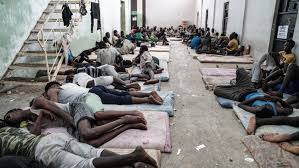 •Migrants in Libya Slave Camps