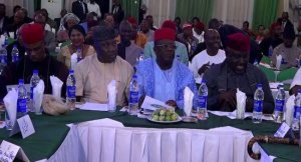 •South East Governors and Lawmakers at the meeting.