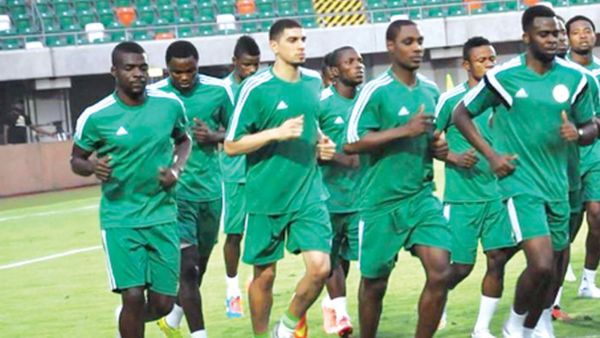 •The Super Eagles of Nigeria