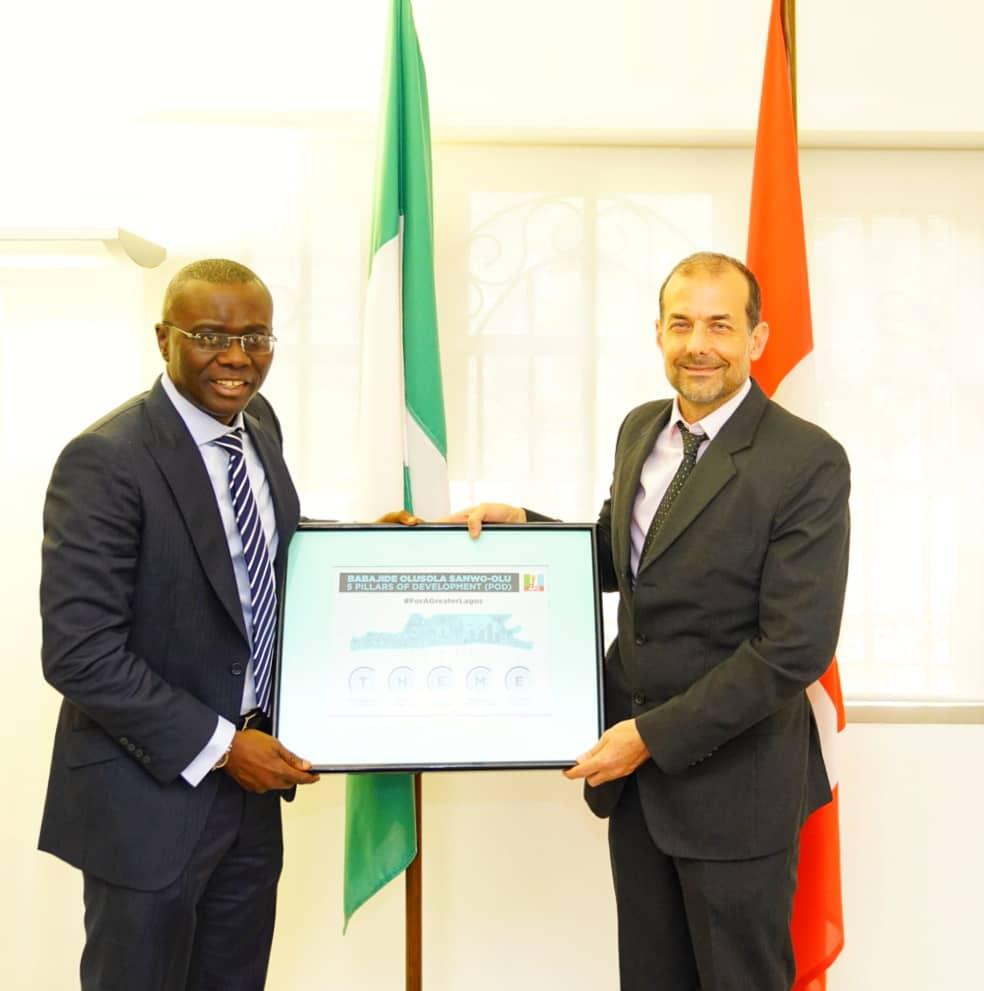 Image result for Ambassador of Switzerland to Nigeria, Mr. George Steiner