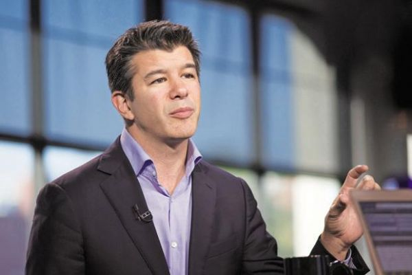 •Uber CEO Travis Kalanick.